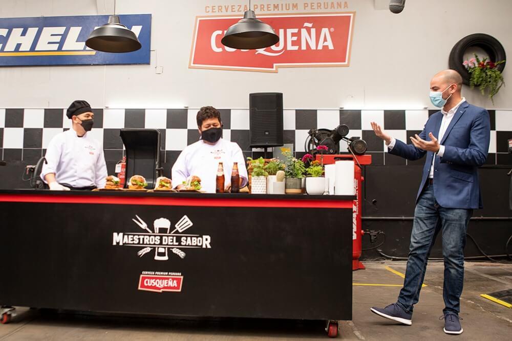 Cusqueña abre en Perú el primer restaurante pop-up junto a chef con estrella michelin.